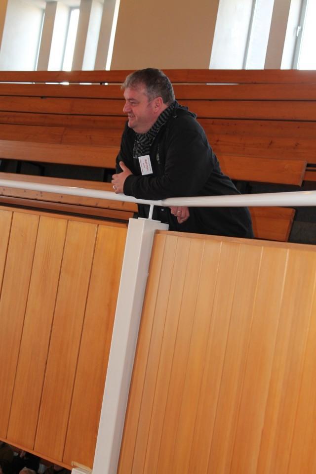 PopKantor Matthias Weber der evangelischen Kirche in Heringen