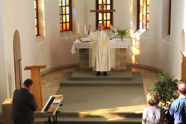 Pfarrer Benjamin Anwand der SELK Widdershausen