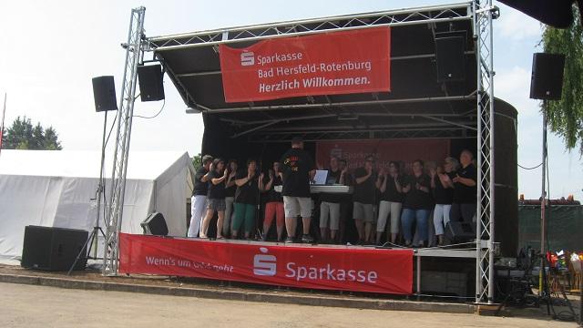 Alle an Bord - Die nächste Bühne in Hönebach wird geentert