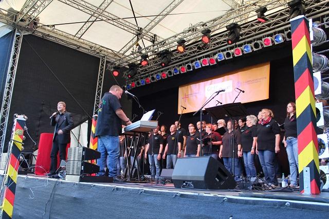 '25 Jahre Deutsche Einheit' - Colours of Music schreibt Geschichte